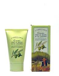 CREMA PER LE MANI E LE UNGHIE all'olio di oliva & alla vitamina E da 75ml.-0