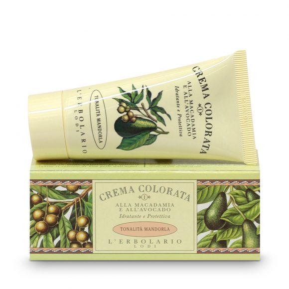 CREMA COLORATA alla macadamia e all'avocado - tonalità Mandorla da 50ml.-0
