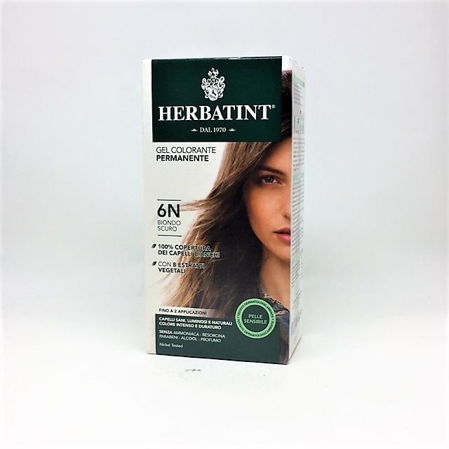 HERBATINT COLORANTE PER CAPELLI BIONDO SCURO 6 N da 135 ml