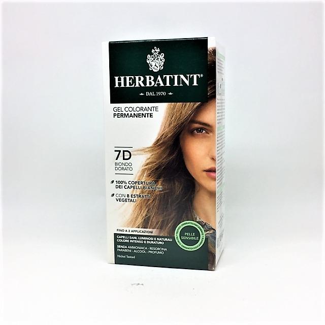 HERBATINT COLORANTE PER CAPELLI BIONDO DORATO 7 D da 135 ml