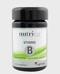 VITAMINE COMPLESSO B NUTRIVA da 50 cpr.-0