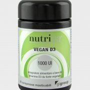 Vitamina Vegan D3 1000UI da 60 compresse -0