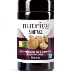 SHITAKE - Lentinula Edodes - Nutriva - 60 vegicaps-0